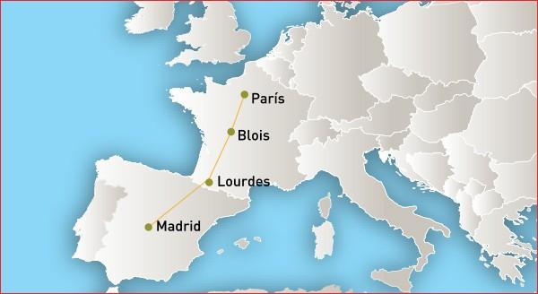 Duo Eterno - Santuario de Lourdes, Francia santuario de lourdes Dúo Eterno Duo Eterno mapa